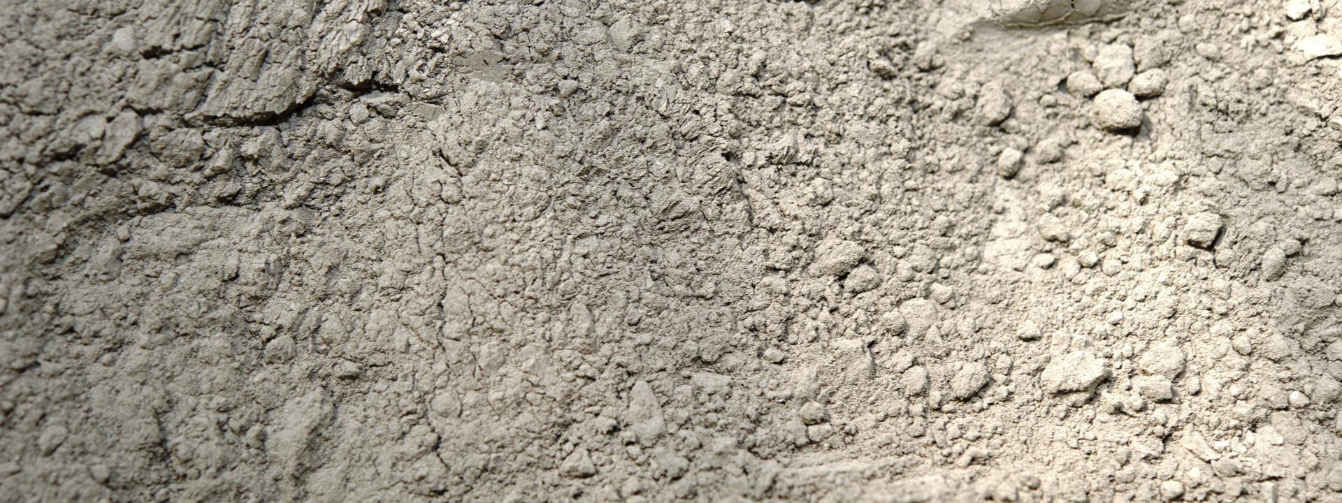 Cement.